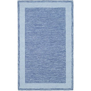 Safavieh Hand-hooked Easy Care Gabbeh Blue Rug (2' x 3')