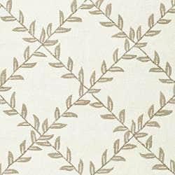 Safavieh Hand-hooked Easy Care Trellis Ivory/ Olive Rug (4' x 6') - Thumbnail 2