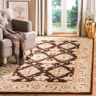 Safavieh Handmade Heritage Caroline Traditional Oriental Wool Rug