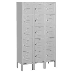 Salsbury Industries Grey 5-tier Box-style Lockers