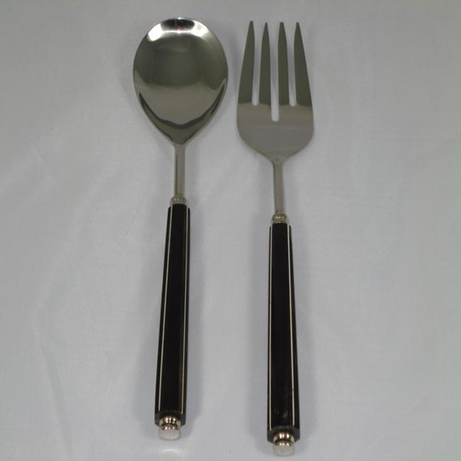 Black Bone 2-piece Serving Set (India)