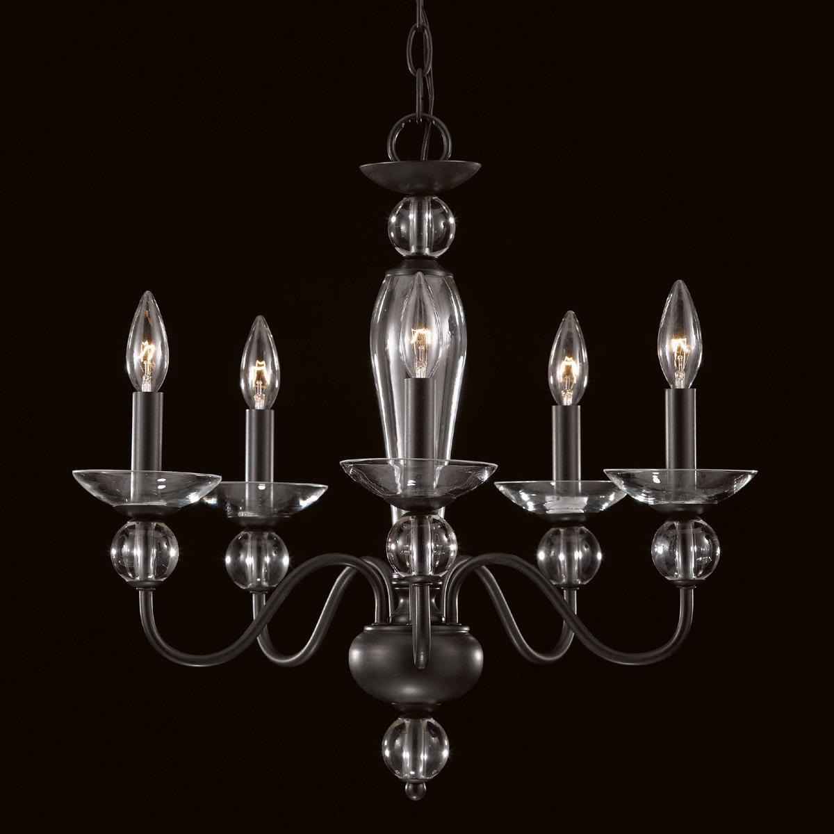 New Classic 5-light Mini Chandelier - Thumbnail 0