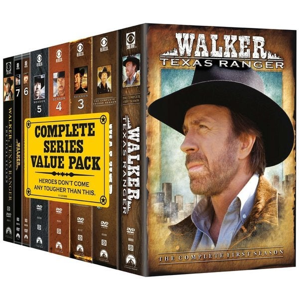 Walker, Texas Ranger: The Complete Series Pack (DVD)