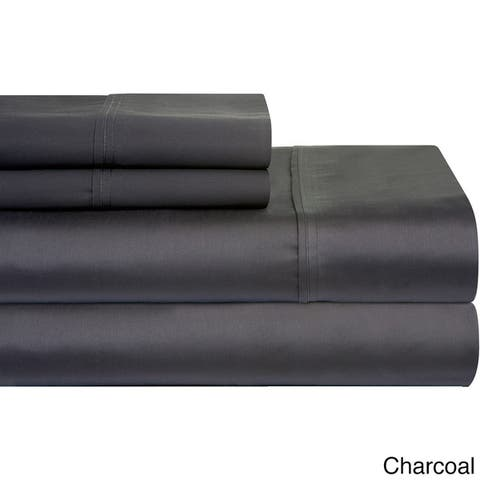 Pima Cotton Extra Deep Pocket 400 Thread Count Bed Sheet Set