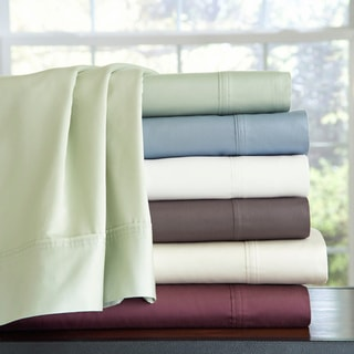 Pima Cotton Extra Deep Pocket 400 Thread Count Bed Sheet Set