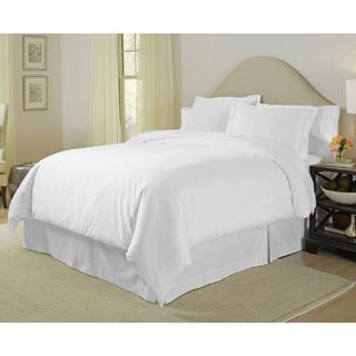 Pointehaven Pima Cotton 400 Thread Count 3-piece Duvet Cover Set (More options available)