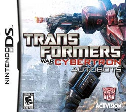 NinDS - Transformers: War for Cybertron - Autobots- By Activision Inc.