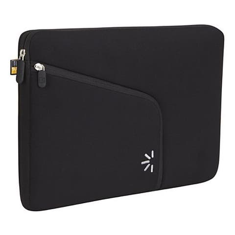 "Case Logic PAS-213 BLACK Carrying Case (Sleeve) for 13.3"" Apple MacBook Pro - Black"
