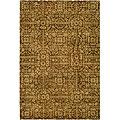 Safavieh Handmade Majestic Beige Wool Area Rug - 7'6' x 9'6'