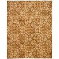 "Safavieh Handmade Majestic Beige Wool Area Rug - 7'-6"" x 9'-6"""