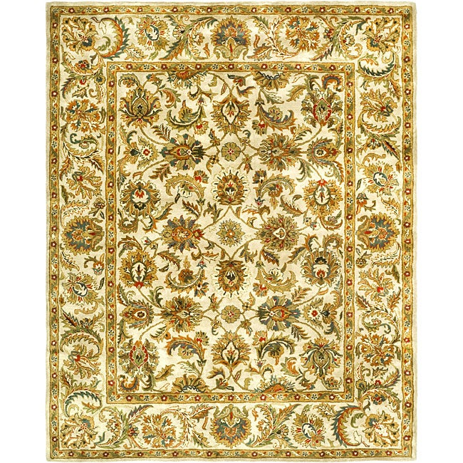 Safavieh Handmade Classic Ivory Wool Rug (8'3 x 11')