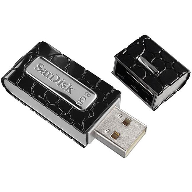 SanDisk 8GB Cruzer Gator USB 2.0 Flash Drive (Bulk Packaging)