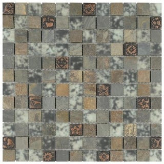 Metal Tile Overstock Com Shopping Floor Backsplash
