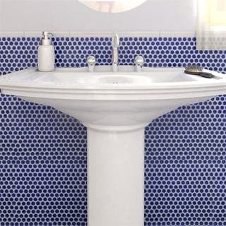 Blue Tile Find Great Home Improvement Deals Shopping At Overstockcom - Cobalt blue ceramic tile 4x4