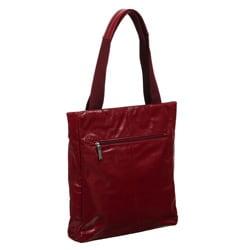 Cosmo Women's Italian Leather Tote Bag - Thumbnail 1