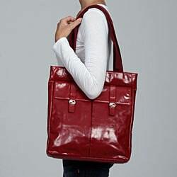 Cosmo Women's Italian Leather Tote Bag - Thumbnail 2