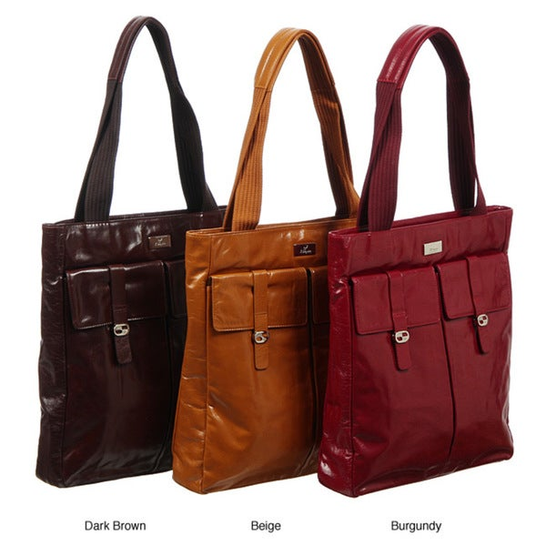 Cosmo Women's Italian Leather Tote Bag
