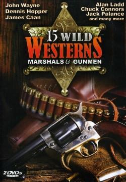 15 Wild Westerns: Marshals & Gunmen (DVD)