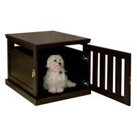 Espresso Furniture-style Dog Crate
