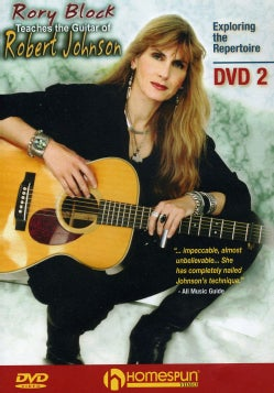 Rory Block Teaches The Guitar of Robert Johnson (DVD)