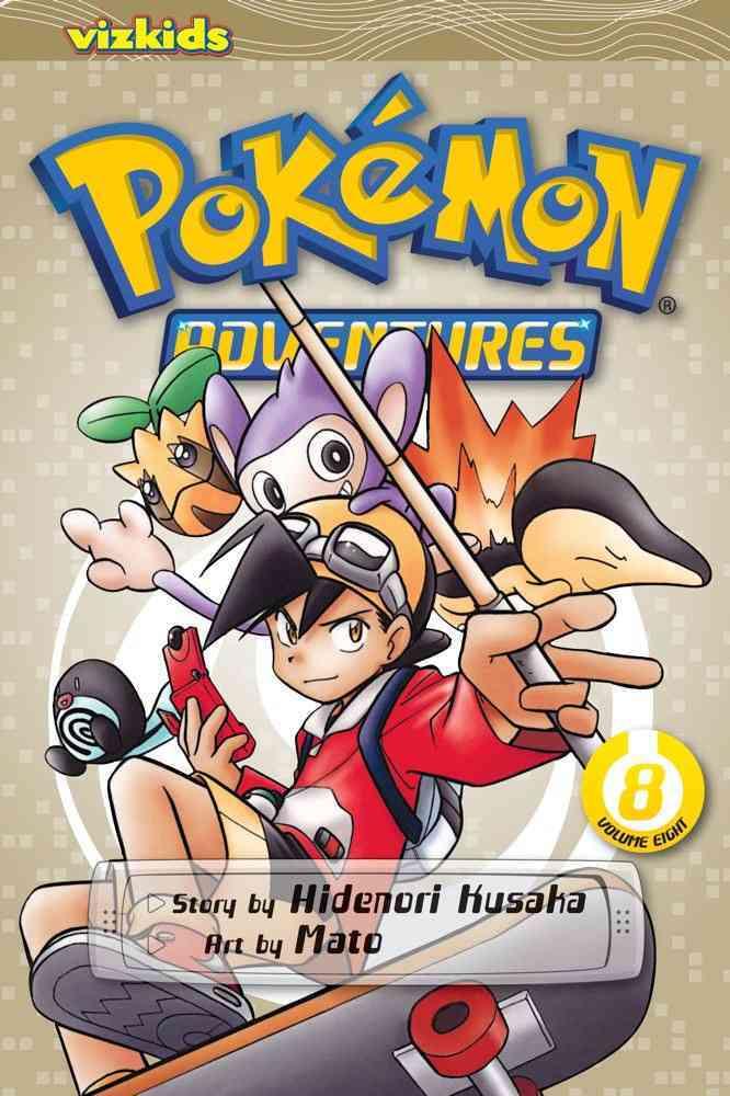 Pokemon Adventures 8 (Paperback)