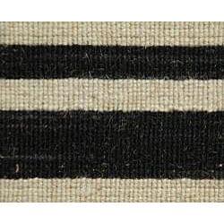 Thumbnail 2, Hand-woven Arrah-109 Dhurry Wool Rug (8' x 10'). Changes active main hero.