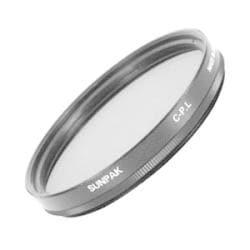 Sunpak 58mm Circular Polarizer Filter