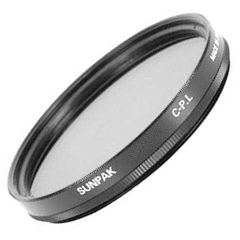 Sunpak CF-7061 CP 67mm Circular Polarizer Filter