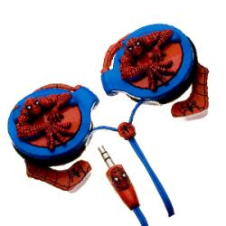 Nemo Digital Spider-man 3D Wrap Around Headphones - Thumbnail 1