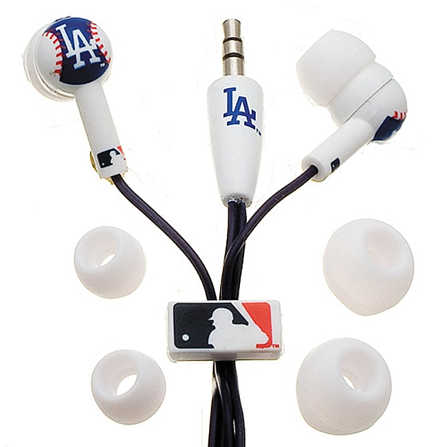 Nemo Digital MLB Baseball Los Angeles Dodgers Earbud Headphones