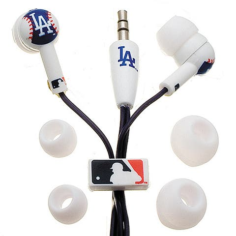 Nemo Digital MLB Baseball Los Angeles Dodgers Earbud Headphones