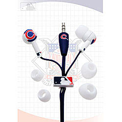 Nemo Digital MLB Baseball Chicago Cubs Earbud Headphones