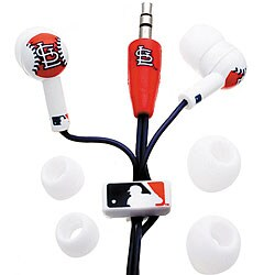 Nemo Digital MLB Baseball St. Louis Cardinals Earbud Headphones
