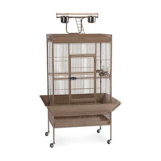 Prevue Pet Products Wrought Iron Select Bird Cage 3153 (Option: Cocoa - Parakeet/Parrot/Cockatiel - .75 Inch)