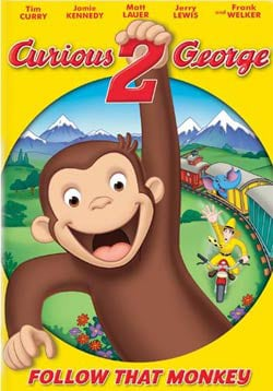 Curious George 2: Follow That Monkey! (DVD)