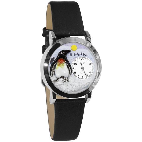 Whimsical Kids' Penguin-themed Steel Case Watch