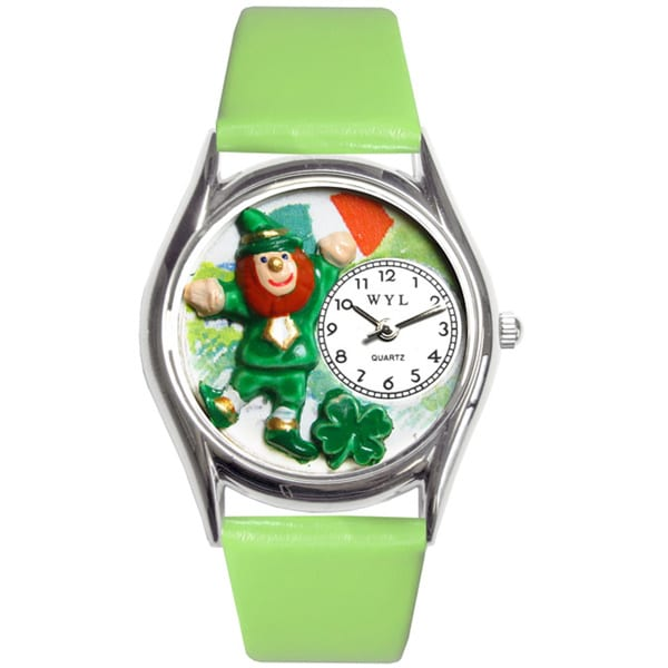 Whimsical St. Patrick's Day with Irish Flag Watch