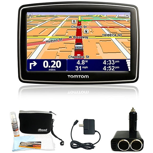 TomTom XL 340 GPS Navigation System with Bonus Kit (New in Non-Retail Packaging) - Thumbnail 0