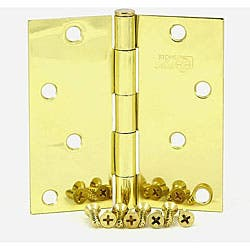 Stone Mill 4-inch Polished Brass Square Corner Door Hinges|https://ak1.ostkcdn.com/images/products/4566365/Stone-Mill-4-inch-Polished-Brass-Square-Corner-Door-Hinges-P12504433.jpg?impolicy=medium