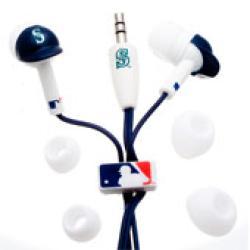 Nemo Digital MLF10114SE MLB Seattle Mariners Batting Helmet Headphones