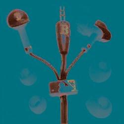 Nemo Digital MLF10114BS MLB Boston Red Sox Batting Helmet Headphones - Thumbnail 2