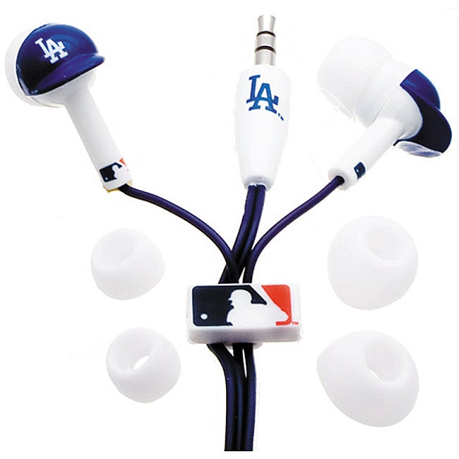 Nemo Digital MLF10114LAD MLB Los Angeles Dodgers Helmet Headphones