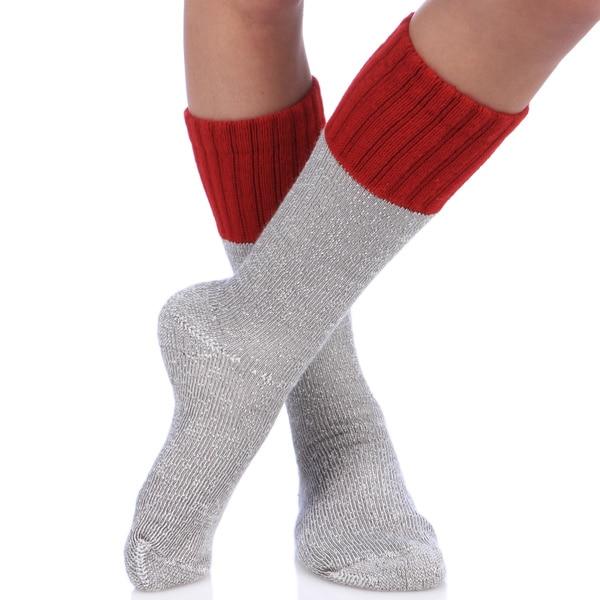 Smart Socks Classic Hunting Boot Crew Socks (Pack of 6 Pair)