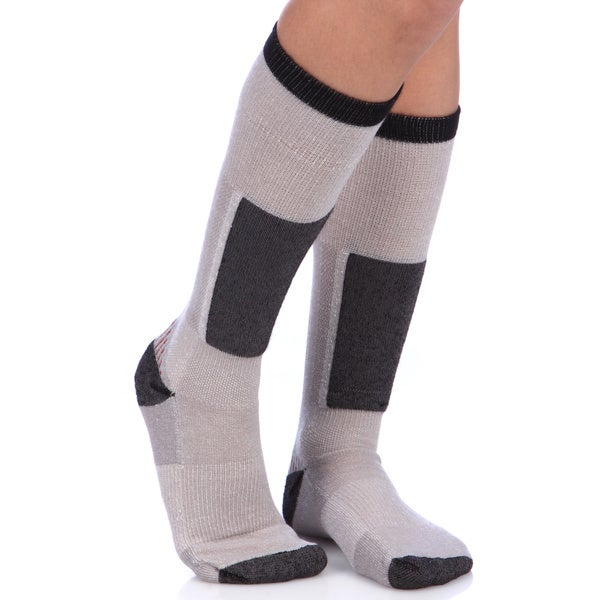 Smart Socks Cushioned Merino Wool Fog Ski Socks (Pack of 3 Pairs)