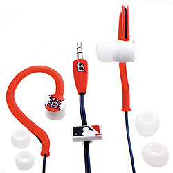 Nemo Digital MLB St. Louis Cardinals Jogger's Earphones - Thumbnail 0