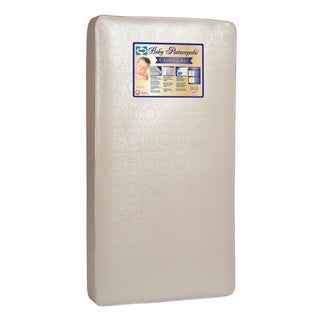 Sealy Posturepedic Crown Jewel PostureTech 220-coil Crib Mattress with Waterproof Cover