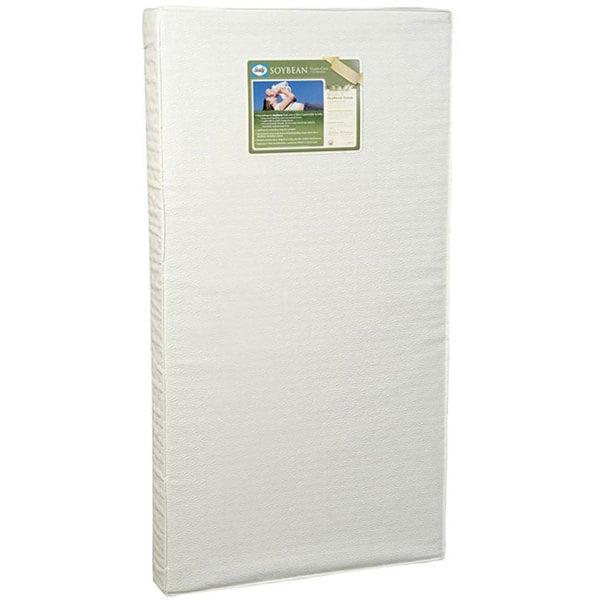Sealy Soybean Foam Core Crib Mattress Free Shipping
