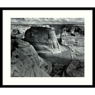 Ansel Adams 'Canyon de Chelly National Monument' Medium Framed Art Print