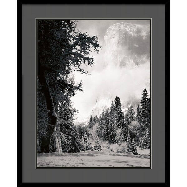 Ansel Adams 'El Capitan' Framed Art Print