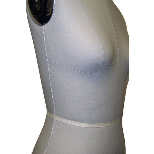 Size 2 Height-adjustable Professional Dress Form